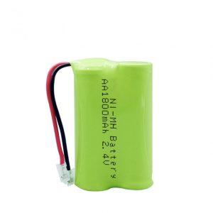 NiMH қайта зарядталатын батарея AA1800mAh 2.4V