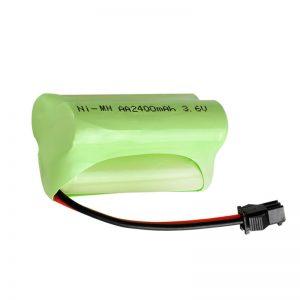 NiMH қайта зарядталатын батарея AA2400 3.6V