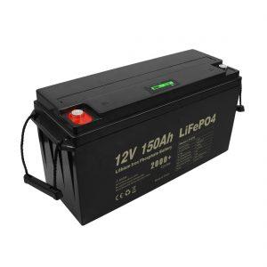 Терең циклды қайта зарядталатын Lifepo4 батареясы 12v 150Ah 200Ah 250Ah 300Ah