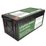 Ыстық сатылым 2,56 кВт.сағ. Lifepo4 батареялары 12v 200Ah 6000 цикл