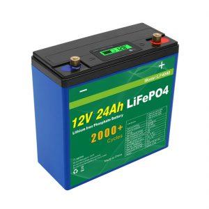 Solar Deep Cycle 24v 48v 24ah Lifepo4 батарея пакеті UPS 12v 24ah батареясы