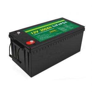 Барлығы бір литий-ионды батарея, терең цикл 12v 300Ah LiFePo4 сақтау батареясы