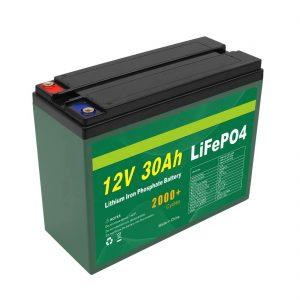 OEM аккумуляторы 12V 30Ah 4S5P литий 2000+ терең цикл Lifepo4 ұяшық өндірушісі