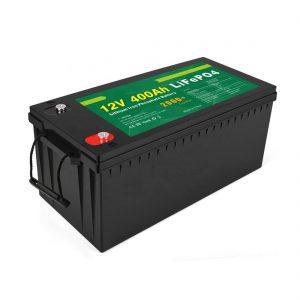Зауыттың бағасы терең циклды күн батареясы 12v 400Ah күн батареясы LiFePO4 батареясы