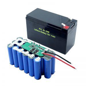 БАРЛЫҒЫ 18650 3S5P 12Вольт литий батареясы 11Ah қайта зарядталатын литий батареясы