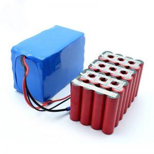 Тапсырыс бойынша жоғары сапалы жақсы баға ең жақсы сатылым 18650 24V 8.8Ah батарея