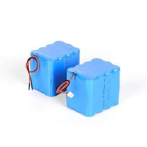 Қайта зарядталатын литий батареясы 18650 жоғары разрядты 3s4p 12v ли ионды аккумуляторлық жинақ