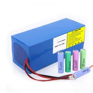 Литий аккумуляторы 18650 72V 20Ah электр зарядының төмен деңгейі 18650 72v 20ah электрлік мотоциклдерге арналған литий батареялары