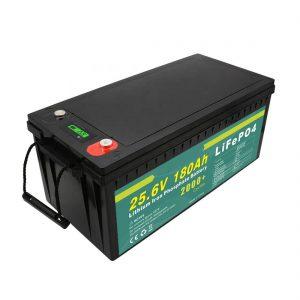 Қайта зарядталатын 24v180ah (LiFePO4) батареялар жиынтығы күн көше жарығы үшін