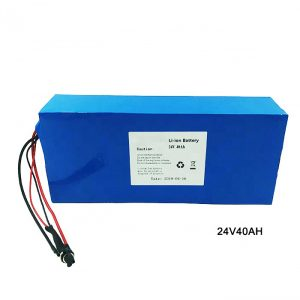 Электр велосипеді 24 вольтты литий батареясы 24V 40Ah NMC Li Ion аккумуляторлық батарея ион литий