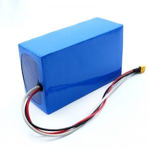 Қайта зарядталатын литий 36V 10Ah Li -on 18650 электрлік скейтбордтың аккумуляторы