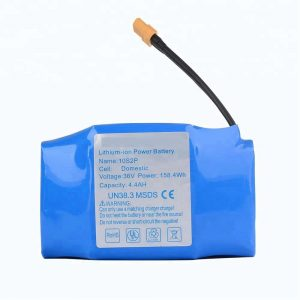 36v 4400mah 10s2p литий батареялар жиынтығы