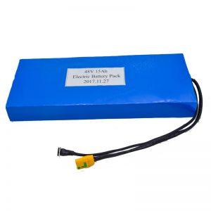 Электр скутеріне арналған 15Ah 48V литий батареясын көтерме сату