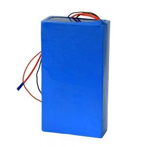 Электр скутеріне арналған қайта зарядталатын 60в 12ah литий батареясы