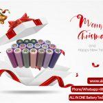 Көңілді Кристамдардың құттықтаулары ALL IN ONE Battery Technology Co. Ltd.
