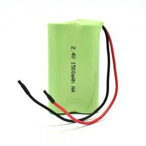 NiMH қайта зарядталатын батарея AA1500mAh 2.4V