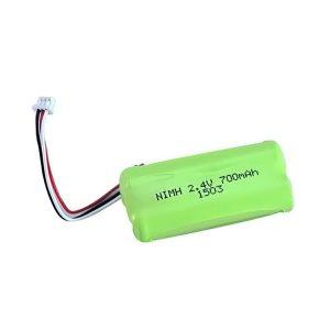 NiMH қайта зарядталатын батарея AA700 2.4V