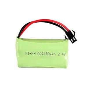 NiMH қайта зарядталатын батарея AA2400mAH 2.4V