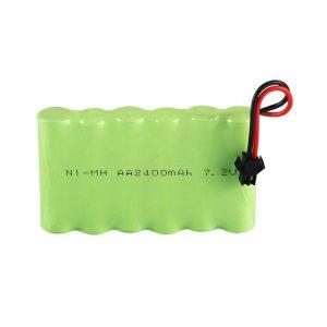 NiMH қайта зарядталатын батарея AA 2400mAh 7.2V