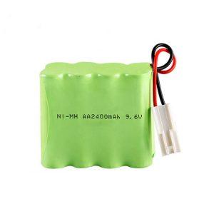 NiMH қайта зарядталатын батарея AA2400 9.6V