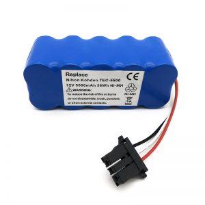 TEC-5500, TEC-5521, TEC-5531, TEC-7621, TEC-7631 шаңсорғышына арналған 12v ni-mh батарея